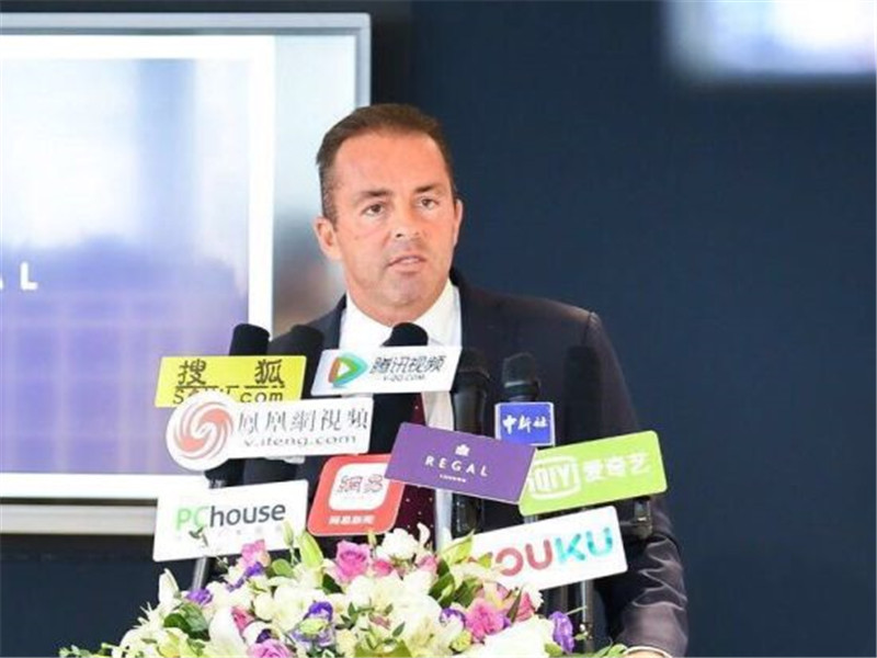 英国地产Regal London上海分公司入驻静安嘉里中心庆典