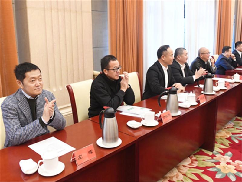 左晖民营企业家迎春座谈会感言:积极创新,推动新居住正循环